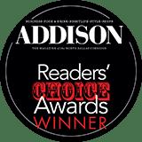 Addison Magazine Readers Choice Awards logo